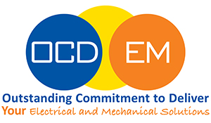 OCD Electrical & Mechanical Logo